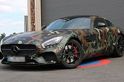 Mercedes-Benz AMG GTs Camouflage selbst fahren